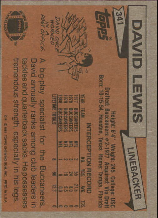 1981-Topps-Futbol-Tarjeta-Recoger-327-527 miniatura 15