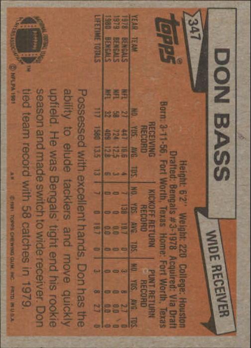 1981-Topps-Futbol-Tarjeta-Recoger-327-527 miniatura 21