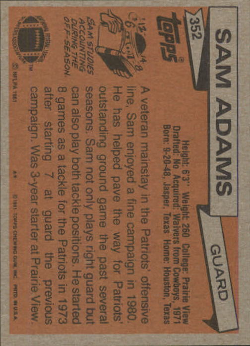1981-Topps-Futbol-Tarjeta-Recoger-327-527 miniatura 25