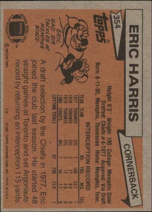 1981-Topps-Futbol-Tarjeta-Recoger-327-527 miniatura 27