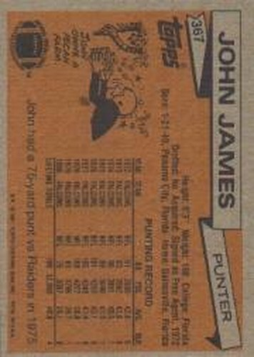 1981-Topps-Futbol-Tarjeta-Recoger-327-527 miniatura 45