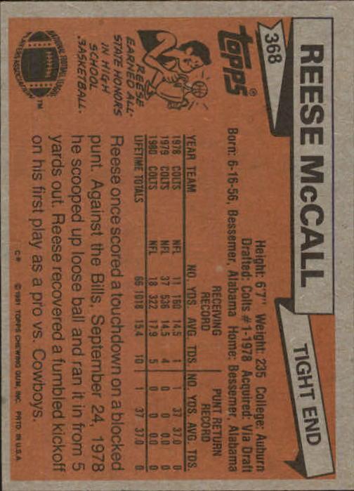 1981-Topps-Futbol-Tarjeta-Recoger-327-527 miniatura 47
