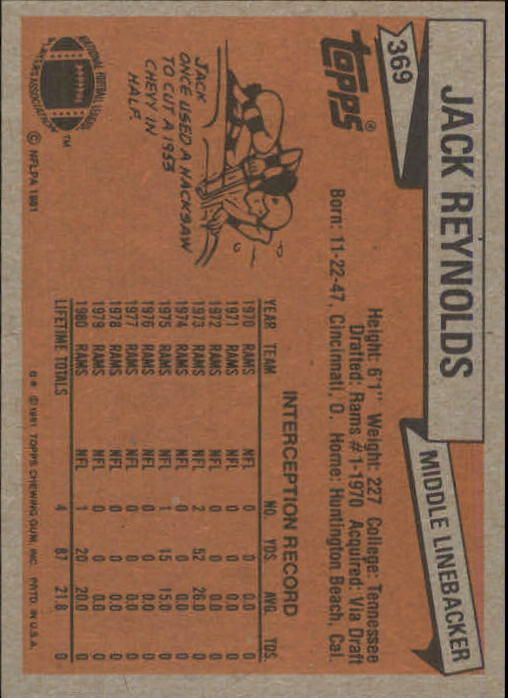 1981-Topps-Futbol-Tarjeta-Recoger-327-527 miniatura 49