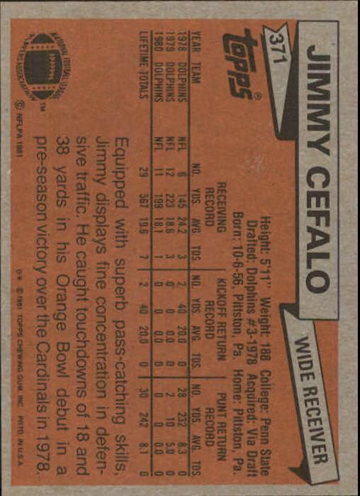 1981-Topps-Futbol-Tarjeta-Recoger-327-527 miniatura 51