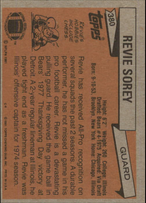 1981-Topps-Futbol-Tarjeta-Recoger-327-527 miniatura 63