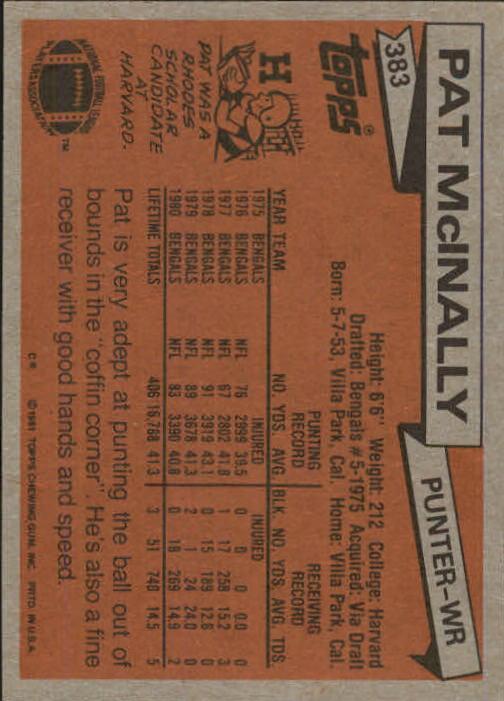 1981-Topps-Futbol-Tarjeta-Recoger-327-527 miniatura 67