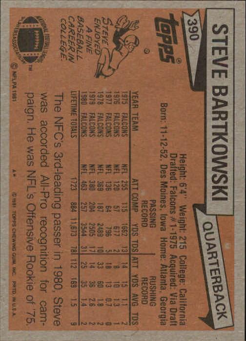 1981-Topps-Futbol-Tarjeta-Recoger-327-527 miniatura 77