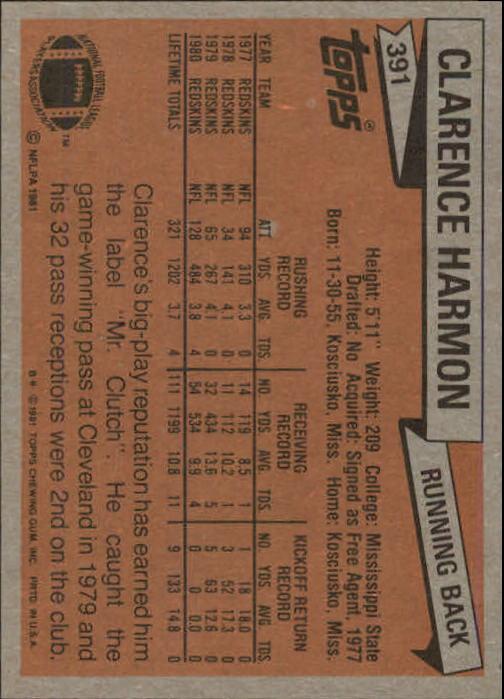 1981-Topps-Futbol-Tarjeta-Recoger-327-527 miniatura 79
