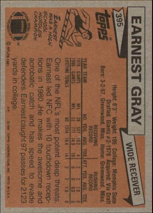 1981-Topps-Futbol-Tarjeta-Recoger-327-527 miniatura 83