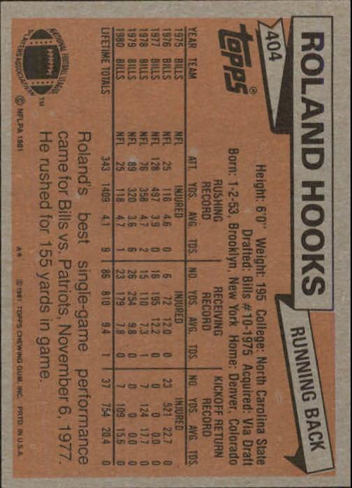 1981-Topps-Futbol-Tarjeta-Recoger-327-527 miniatura 89