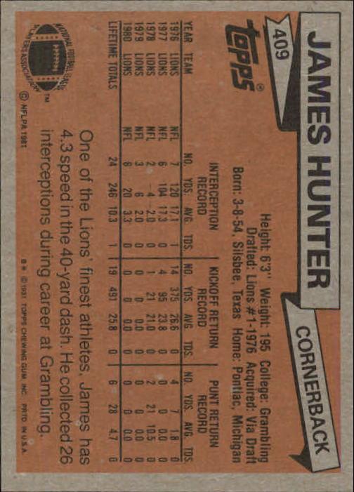 1981-Topps-Futbol-Tarjeta-Recoger-327-527 miniatura 95
