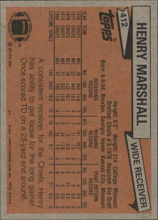 1981-Topps-Futbol-Tarjeta-Recoger-327-527 miniatura 99