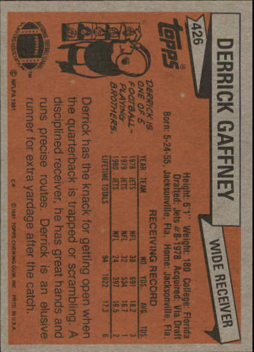 1981-Topps-Futbol-Tarjeta-Recoger-327-527 miniatura 113