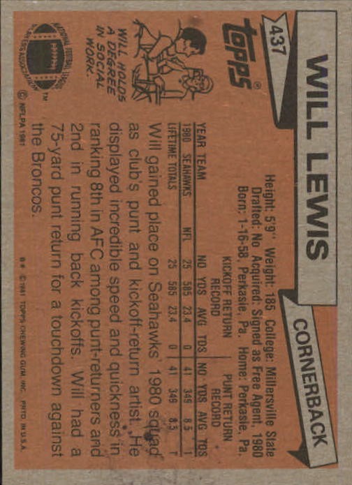 1981-Topps-Futbol-Tarjeta-Recoger-327-527 miniatura 127