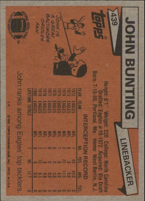 1981-Topps-Futbol-Tarjeta-Recoger-327-527 miniatura 129