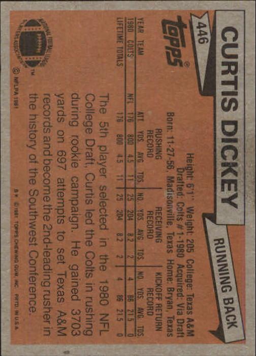 1981-Topps-Futbol-Tarjeta-Recoger-327-527 miniatura 143