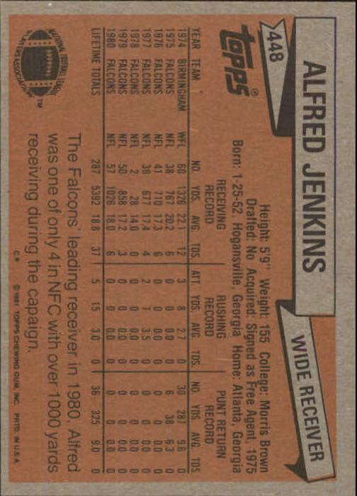 1981-Topps-Futbol-Tarjeta-Recoger-327-527 miniatura 147