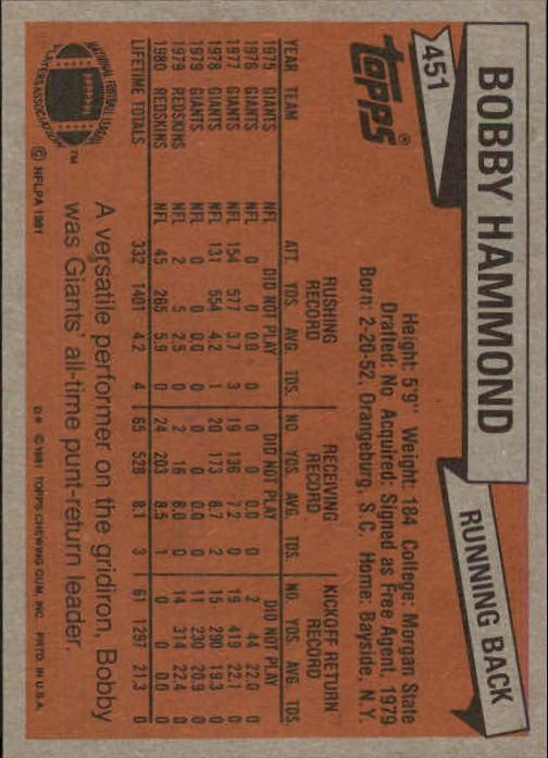 1981-Topps-Futbol-Tarjeta-Recoger-327-527 miniatura 149