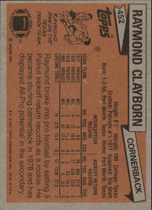 1981-Topps-Futbol-Tarjeta-Recoger-327-527 miniatura 151