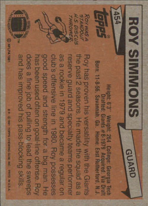 1981-Topps-Futbol-Tarjeta-Recoger-327-527 miniatura 153