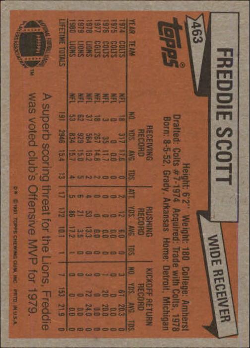 1981-Topps-Futbol-Tarjeta-Recoger-327-527 miniatura 163