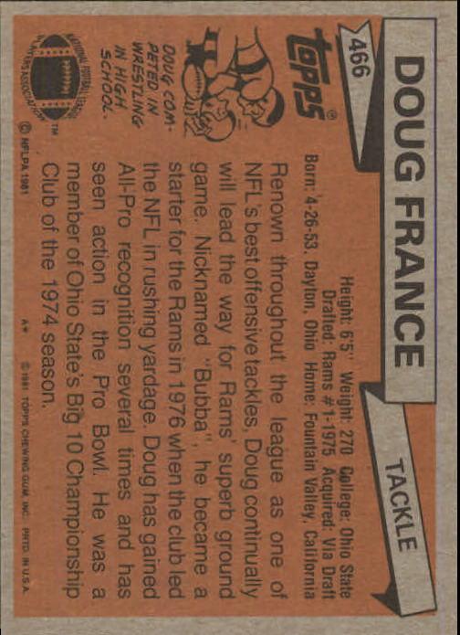 1981-Topps-Futbol-Tarjeta-Recoger-327-527 miniatura 167