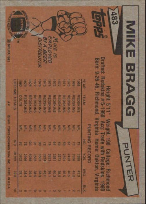 1981-Topps-Futbol-Tarjeta-Recoger-327-527 miniatura 181