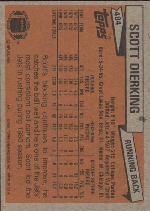 1981-Topps-Futbol-Tarjeta-Recoger-327-527 miniatura 183