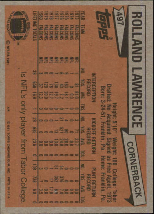 1981-Topps-Futbol-Tarjeta-Recoger-327-527 miniatura 191