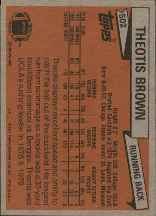 1981-Topps-Futbol-Tarjeta-Recoger-327-527 miniatura 193
