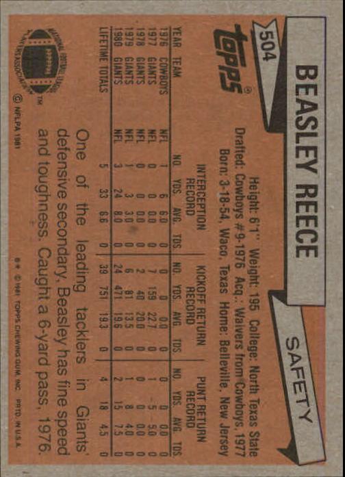1981-Topps-Futbol-Tarjeta-Recoger-327-527 miniatura 195