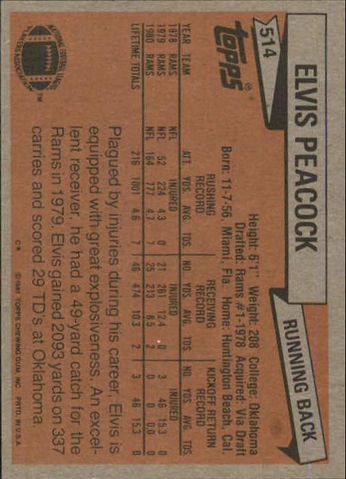 1981-Topps-Futbol-Tarjeta-Recoger-327-527 miniatura 207