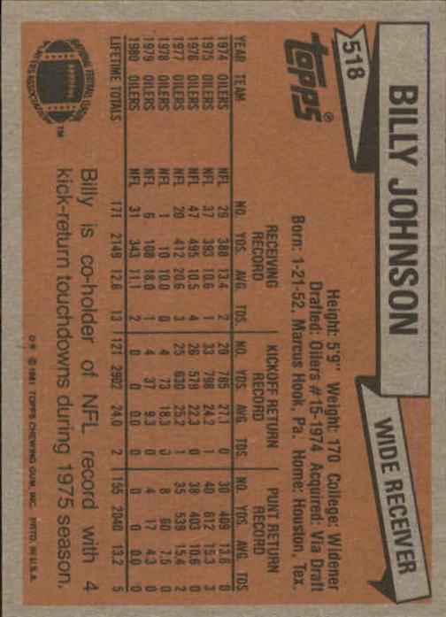 1981-Topps-Futbol-Tarjeta-Recoger-327-527 miniatura 213