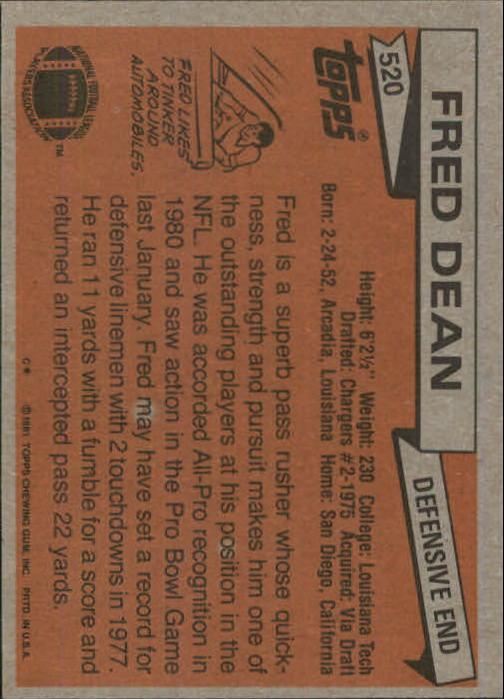 1981-Topps-Futbol-Tarjeta-Recoger-327-527 miniatura 215