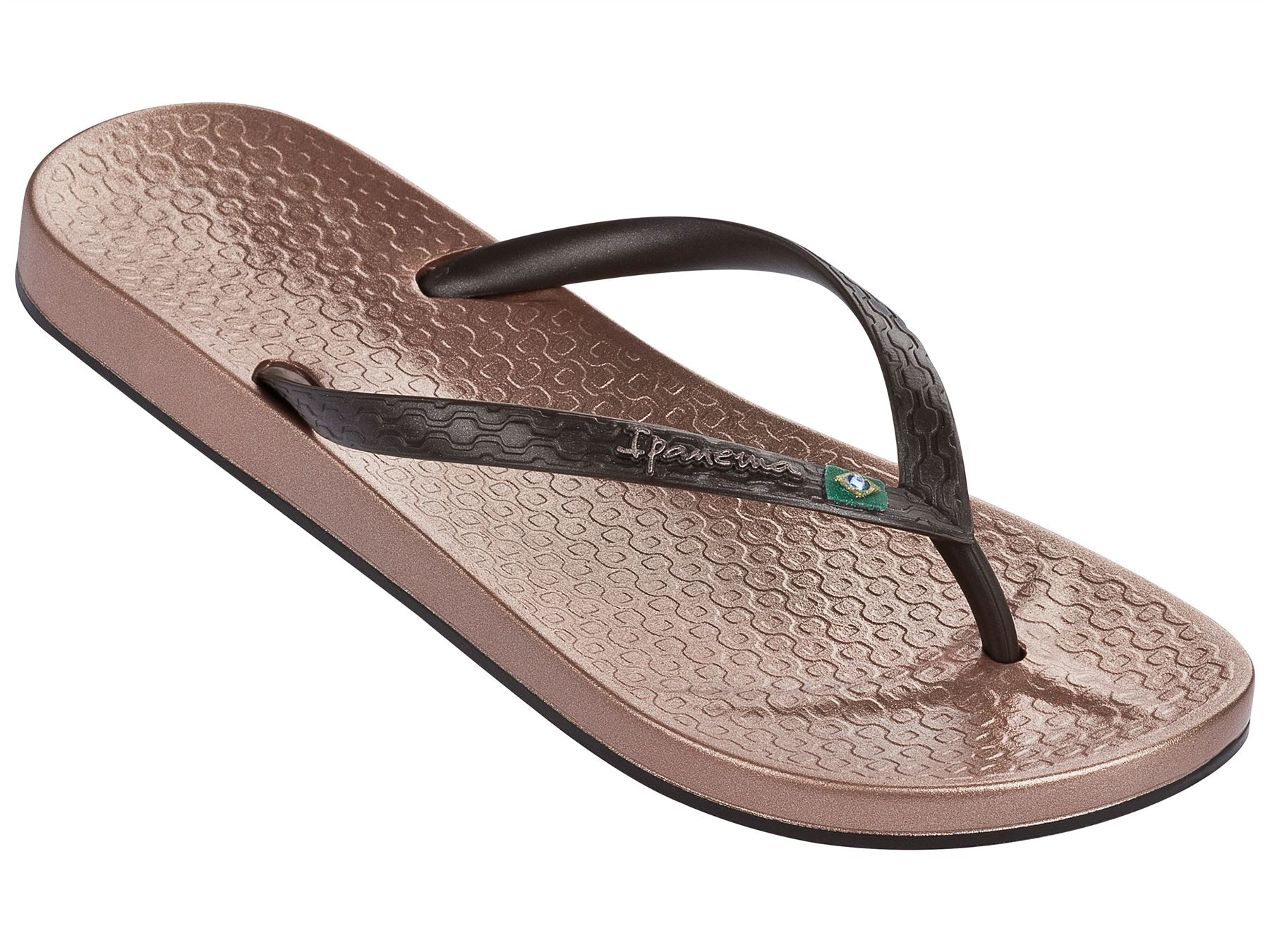 Ipanema-plage-Bresil-Drapeau-Fin-SEMELLE-sandales-tongs-plage-80403