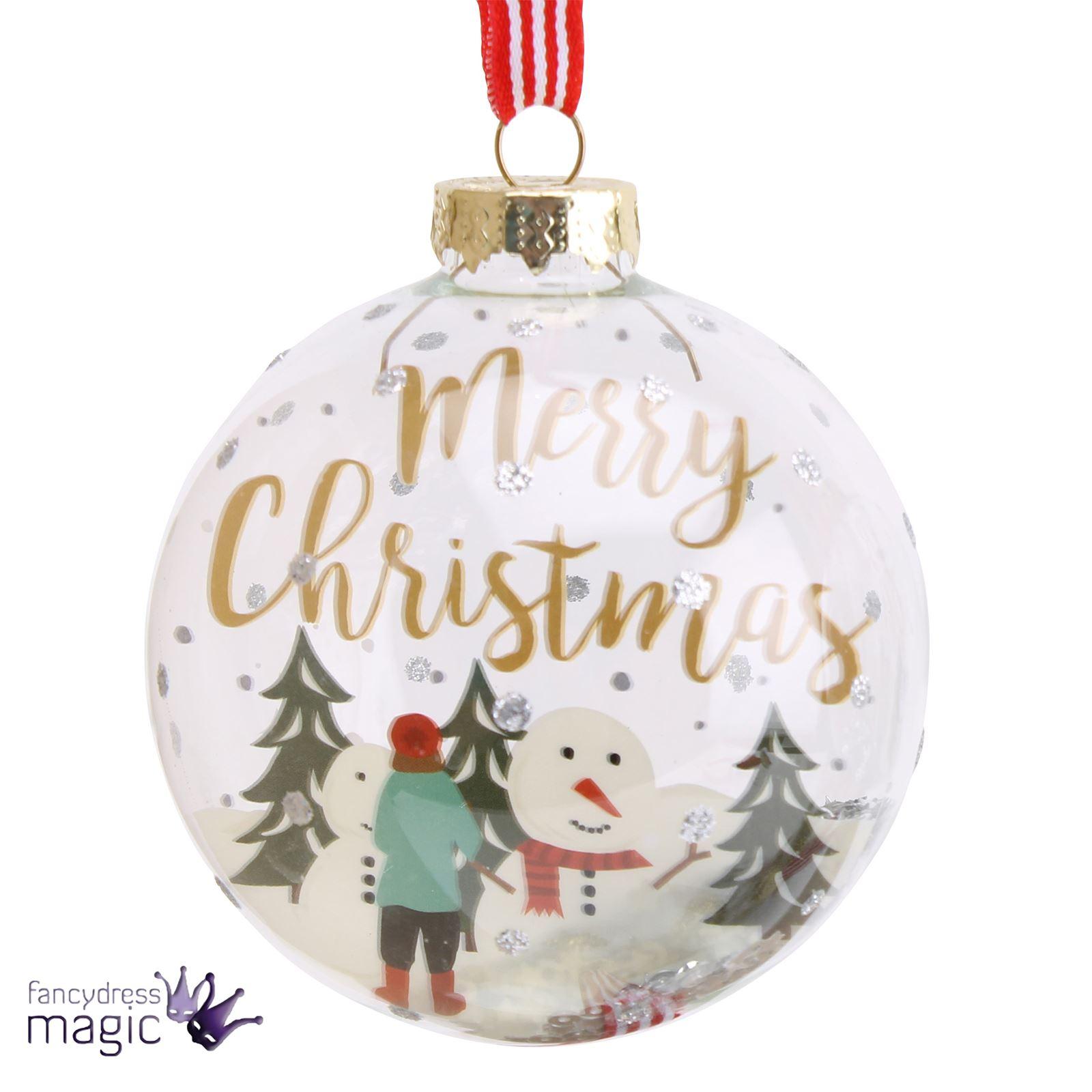 Rbol de navidad colgante con purpurina relleno vidrio for Colgantes para arbol de navidad