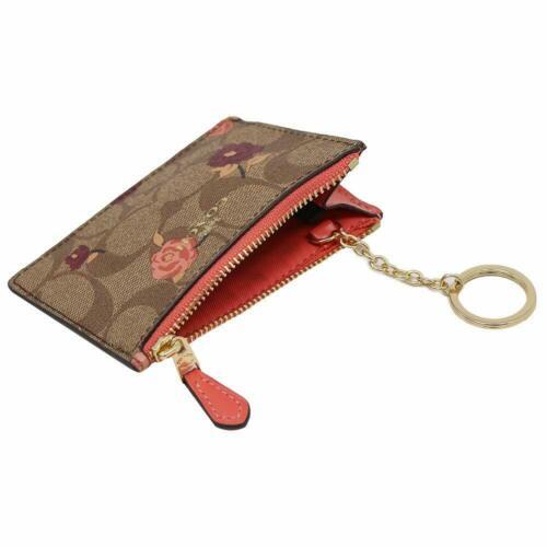 Boîte Sur Avec Id Neuf Skinny Badge Collection Mini Porte Étiquettes Détails Clés Coach 7gbIf6vYy
