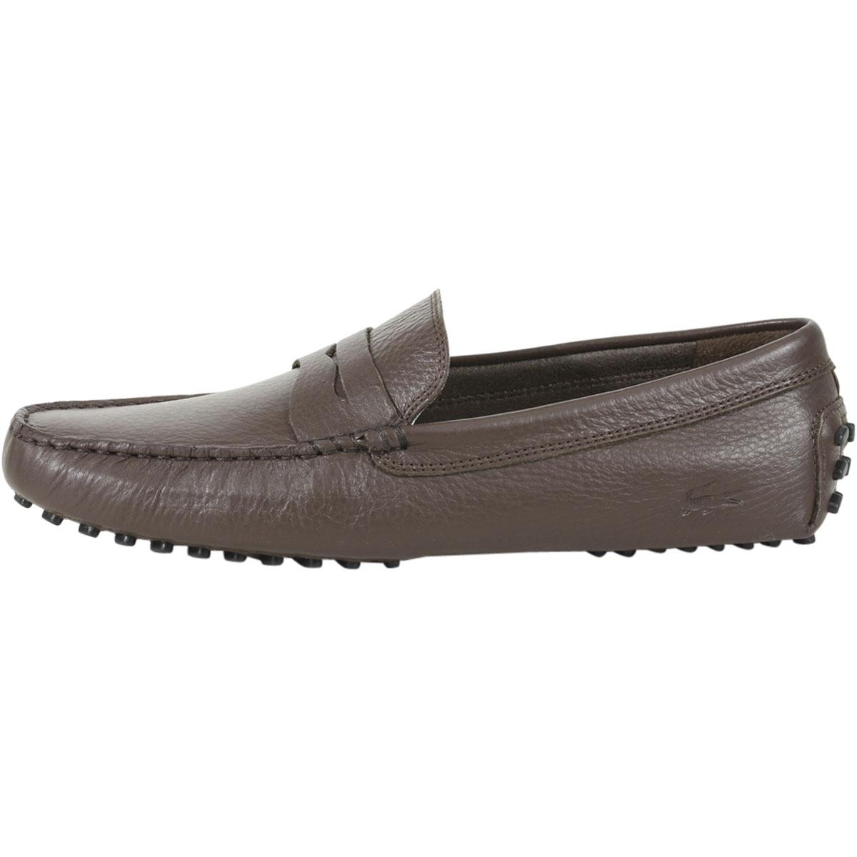 1234b531c0 Lacoste-Homme-Concours-118-Mocassins-Semelle-Caoutchouc-Chaussures miniature