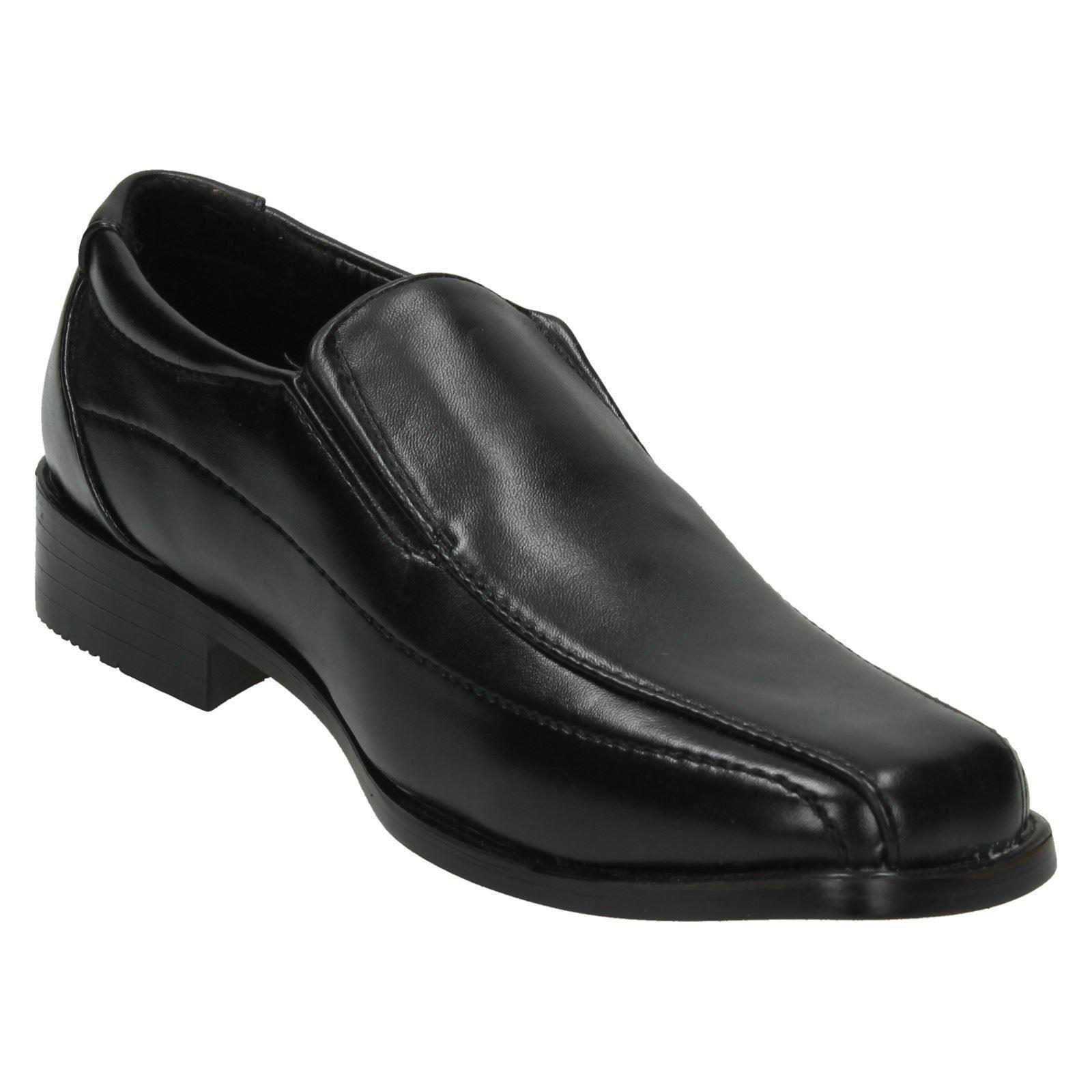 Boys JCDees Lace Up Apron Vamp Shoe