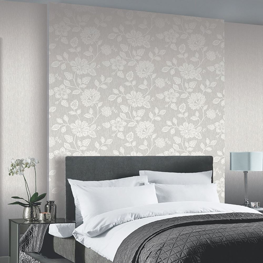 Details About Floral Wallpaper Various Designs And Colours Flowers Roses Birds Nature