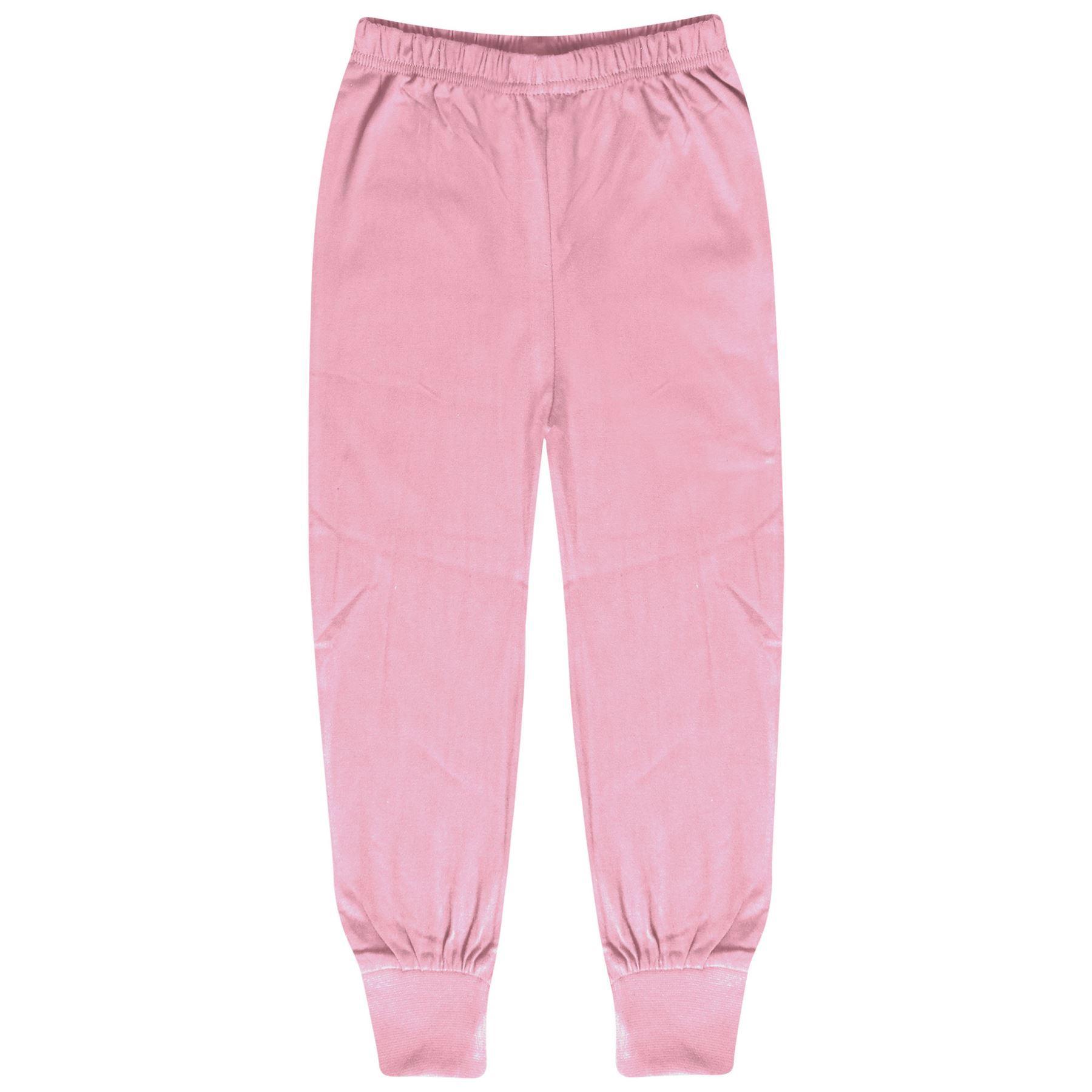 Enfants Filles Pyjamas Rose Bébé Trendy Soie D/'impression A2Z Noël de détente Tenues