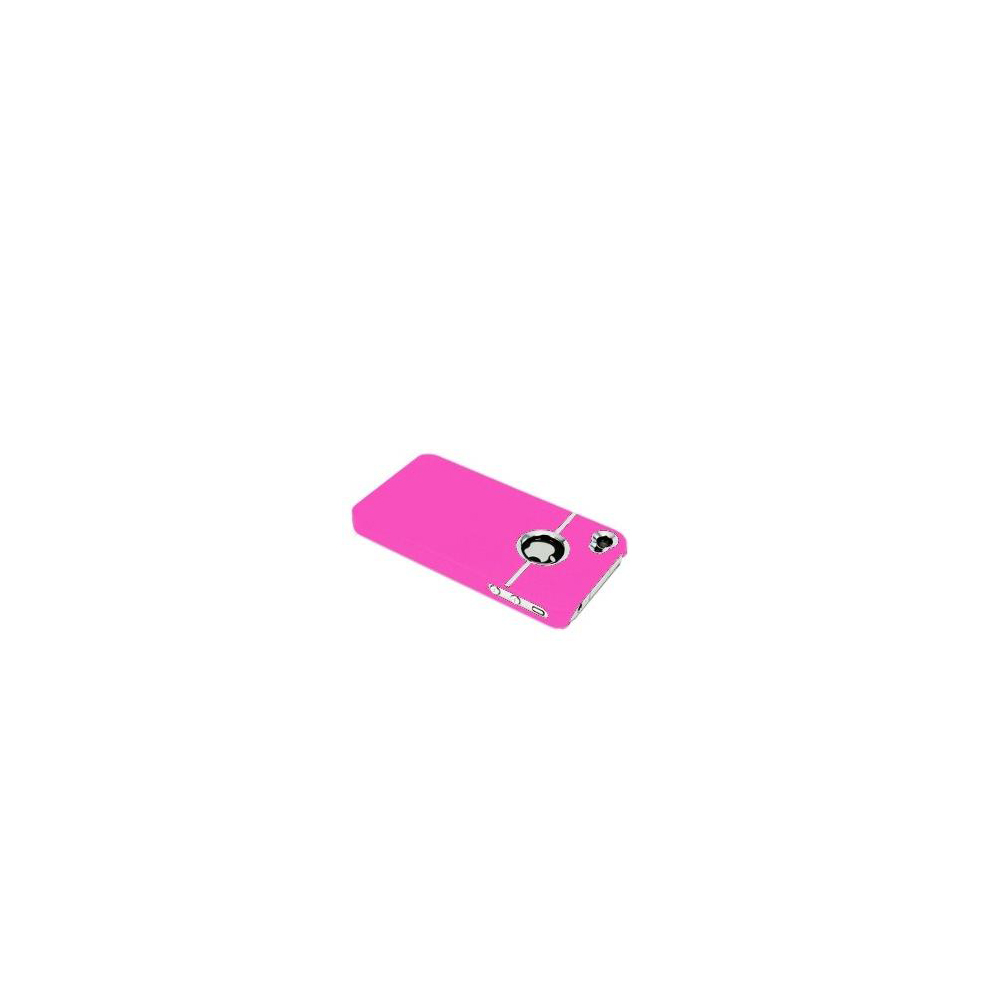 etui-telephone-portable-pour-iPhone-4-4s-Chrome-Housse-de-Protection-NEUF