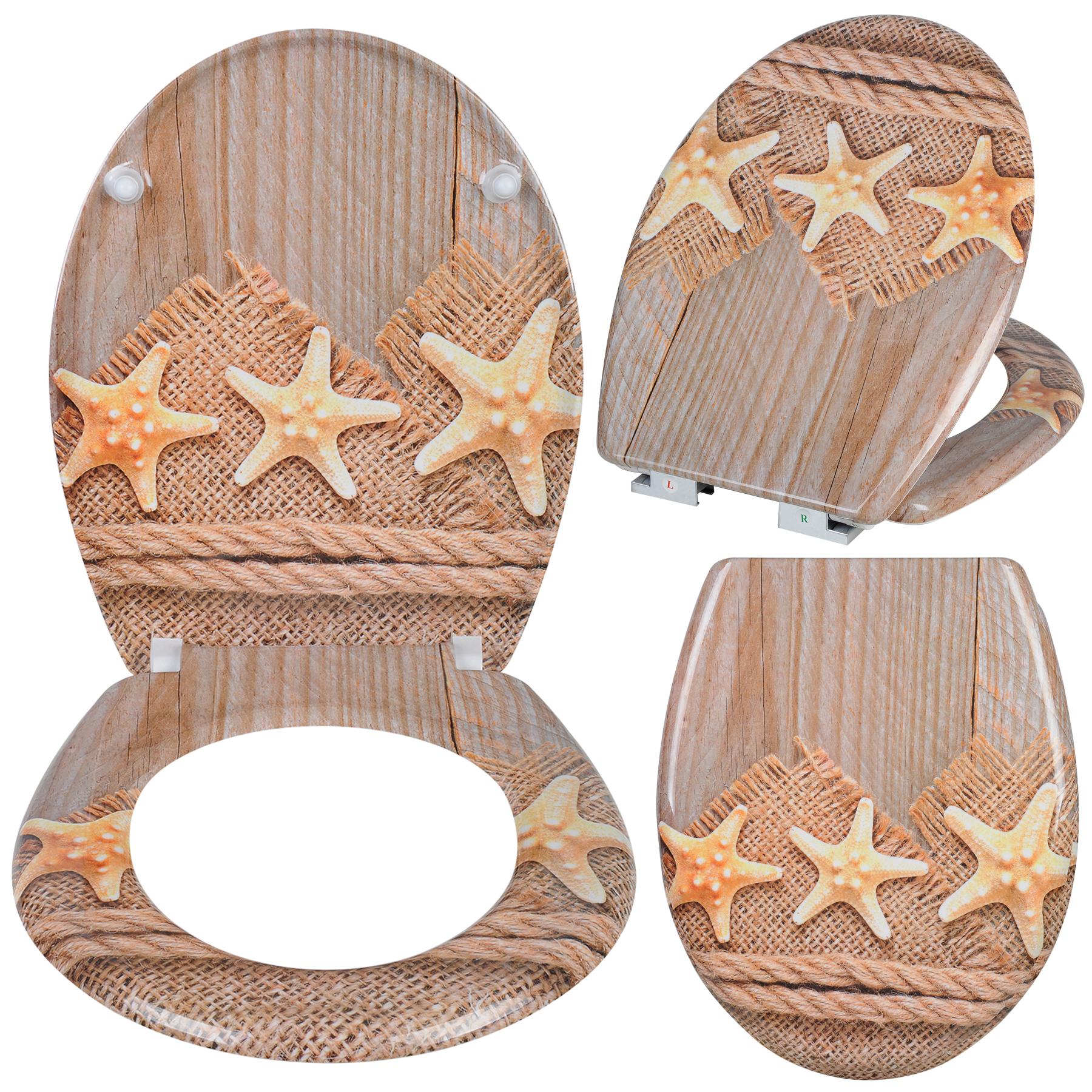lunette wc couvercle de toilette fermeture amortisseur duroplast si ge 60 ebay. Black Bedroom Furniture Sets. Home Design Ideas