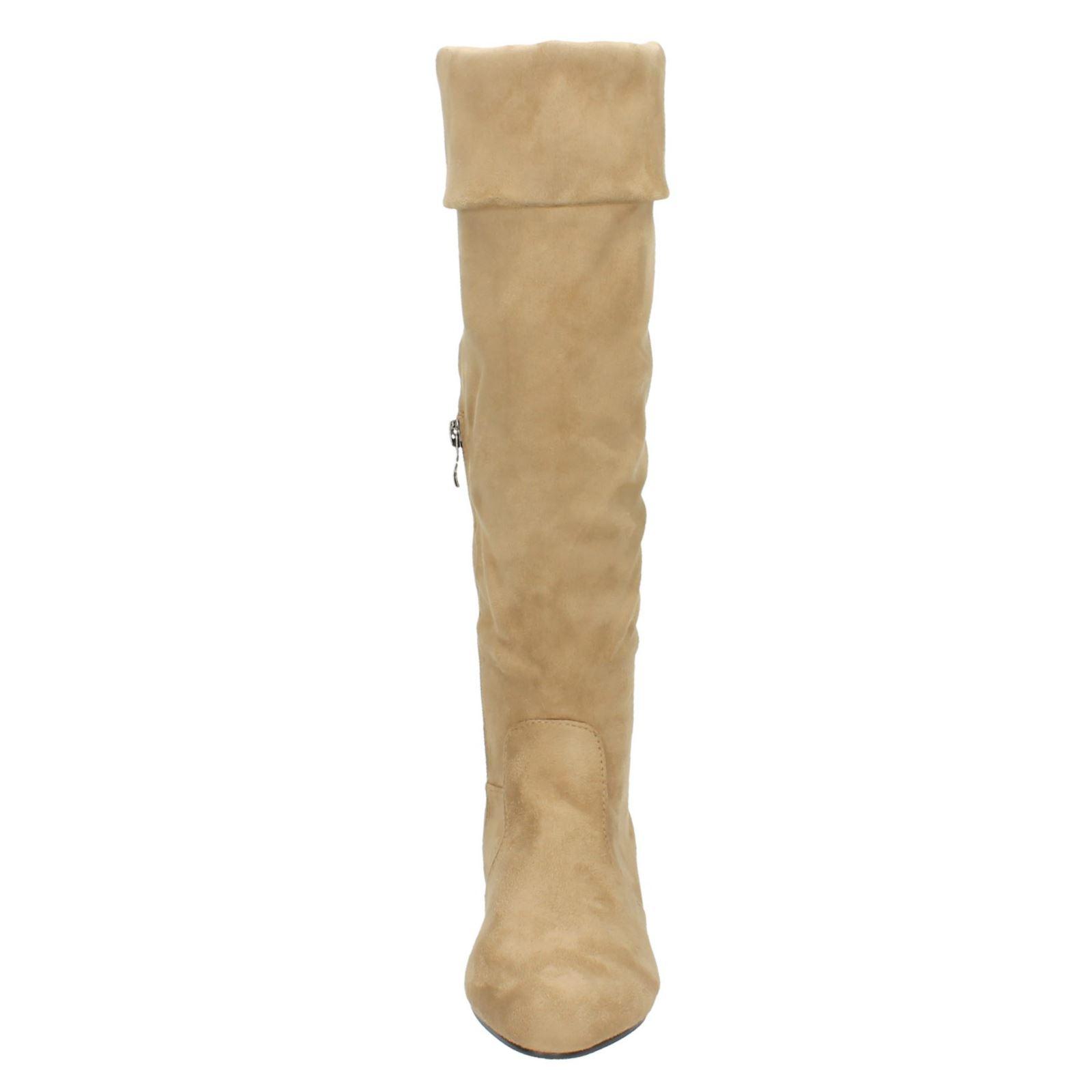 Donna Spot On gamba alta Stivali di gomma Blunero 35