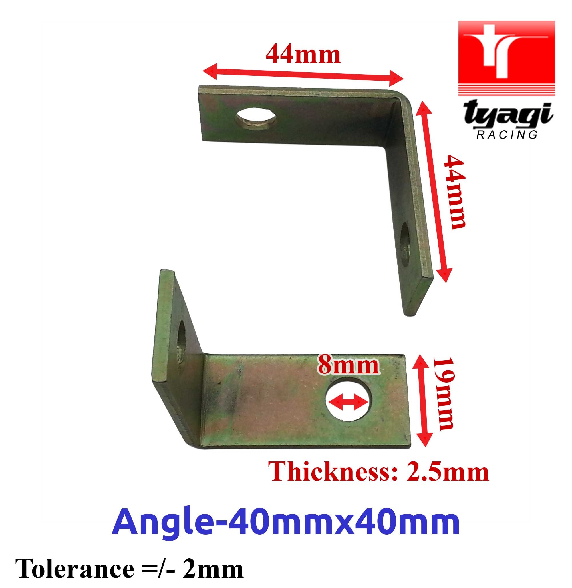 Angled-Alternator-Mounting-Brackets-Car-Van-Truck-Various-Size-90-Right-Angle thumbnail 7