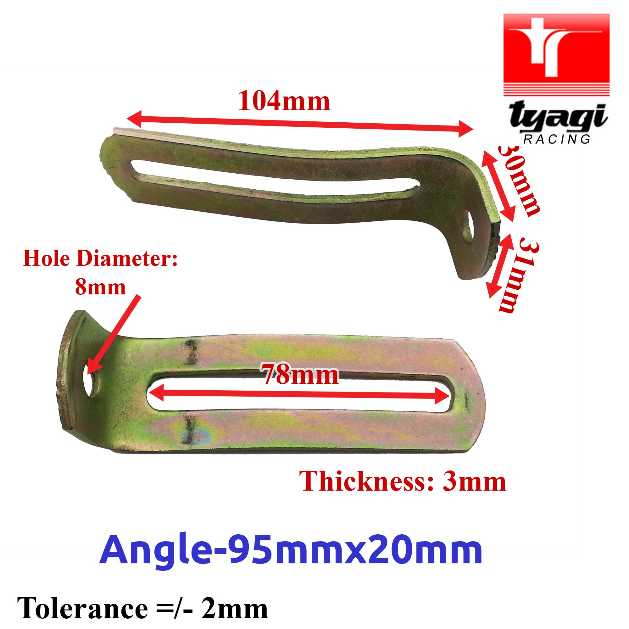 Angled-Alternator-Mounting-Brackets-Car-Van-Truck-Various-Size-90-Right-Angle thumbnail 11