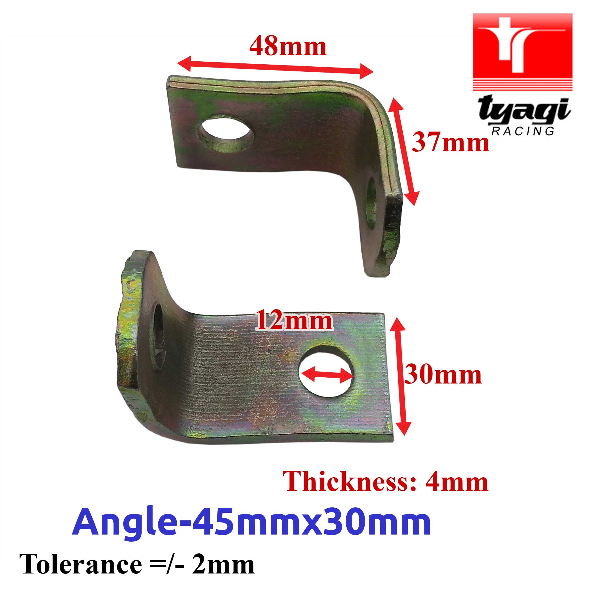 Angled-Alternator-Mounting-Brackets-Car-Van-Truck-Various-Size-90-Right-Angle thumbnail 3