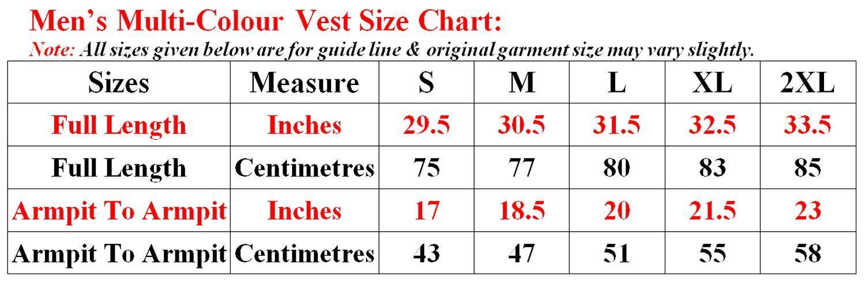 Mens-Vest-3-Pack-100-Cotton-Sports-Gym-Summer-Sleeveless-Plain-Top-Regular-Fit thumbnail 9