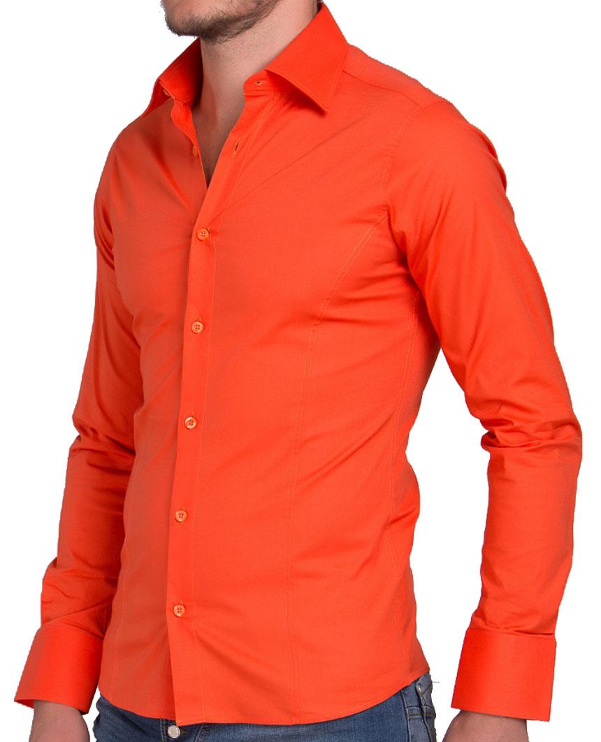 Camicia-Uomo-Slim-Fit-Business-Tempo-Libero-Matrimonio-Maglia-Stiro-Facile miniatura 20