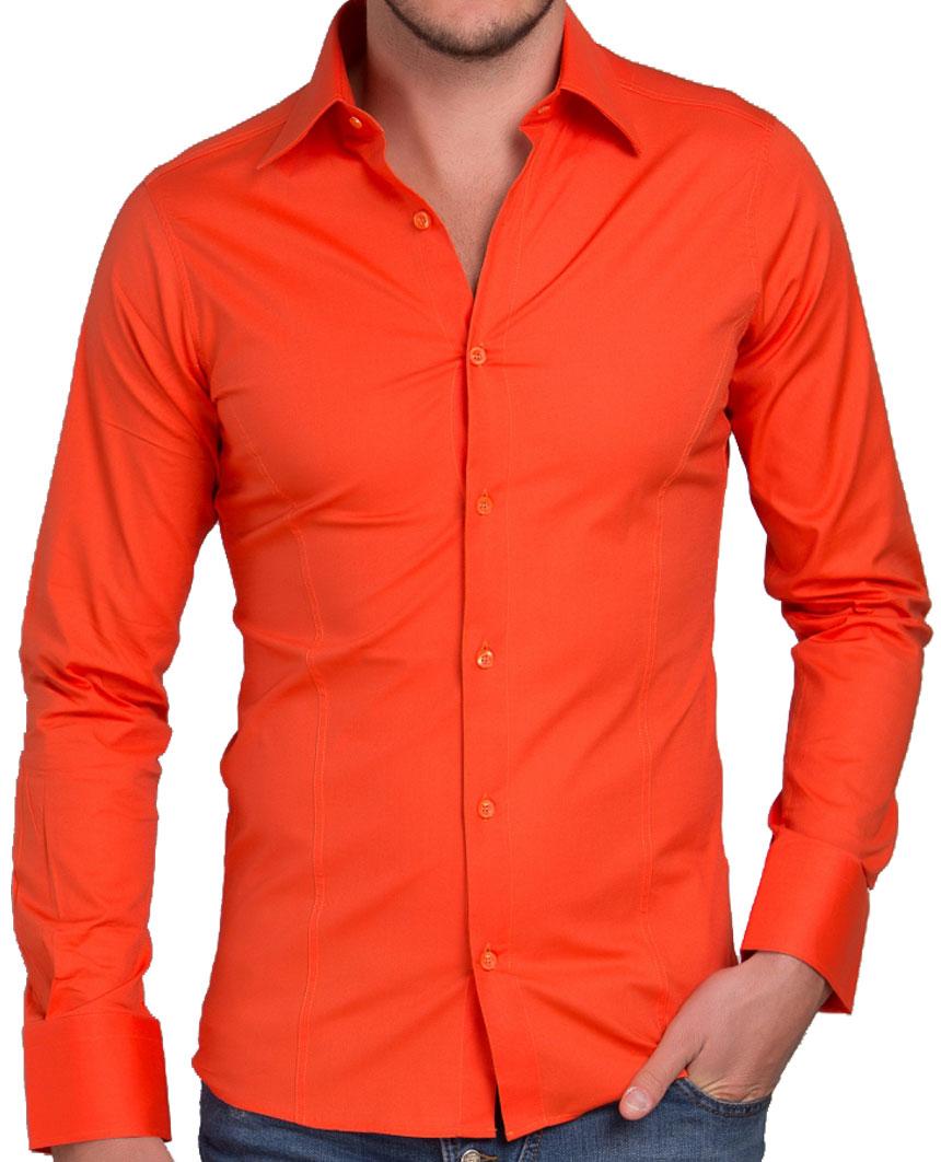 Camicia-Uomo-Slim-Fit-Business-Tempo-Libero-Matrimonio-Maglia-Stiro-Facile miniatura 19